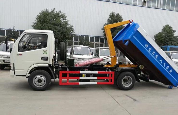 大运桶装垃圾运输车