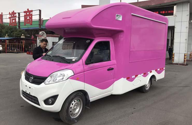 福田奥铃T3流动售货车