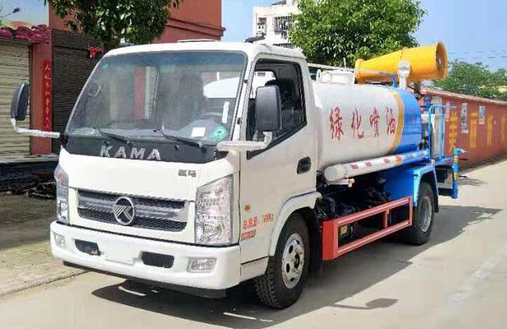 凯马5吨绿化喷洒车