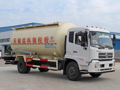 东风天锦粉粒物料运输车