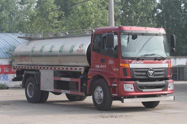 福田欧曼鲜奶运输车