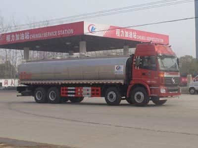 福田欧曼前四后八鲜牛奶运输车(国四)