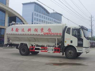 解放J6散装饲料运输车(国四)