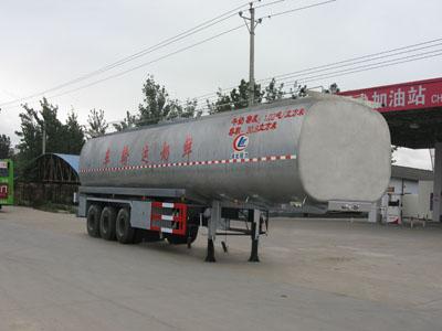 程力威牌CLW9401GNY型37立方鲜奶运输半挂车