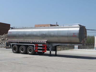 程力威牌CLW9402GSY型42立方食用油运输半挂车