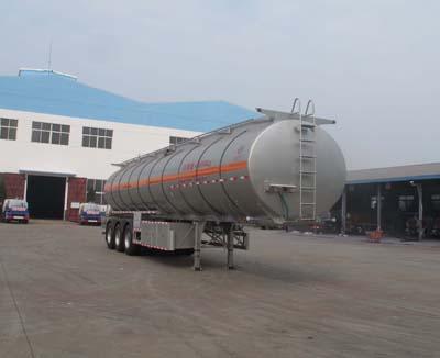 程力威牌CLW9401GSY型42立方食用油运输半挂车