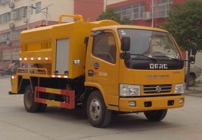 程力威牌CLW5040GQW6型清洗吸污车