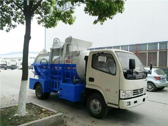 东风福瑞卡餐厨式垃圾车斜正面图片1.jpg