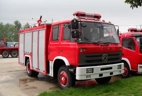 东风153水罐消防车