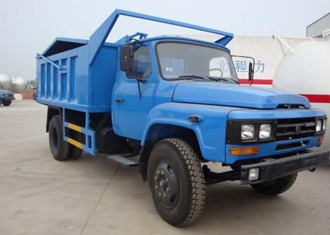东风多利卡桶装垃圾运输车