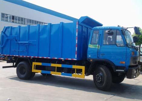 解放J6对接式垃圾车