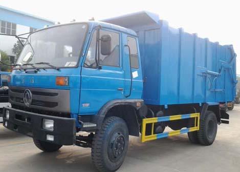 东风特商对接式垃圾车